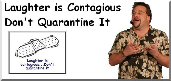 contagious laughter laugh quarantine mechanic